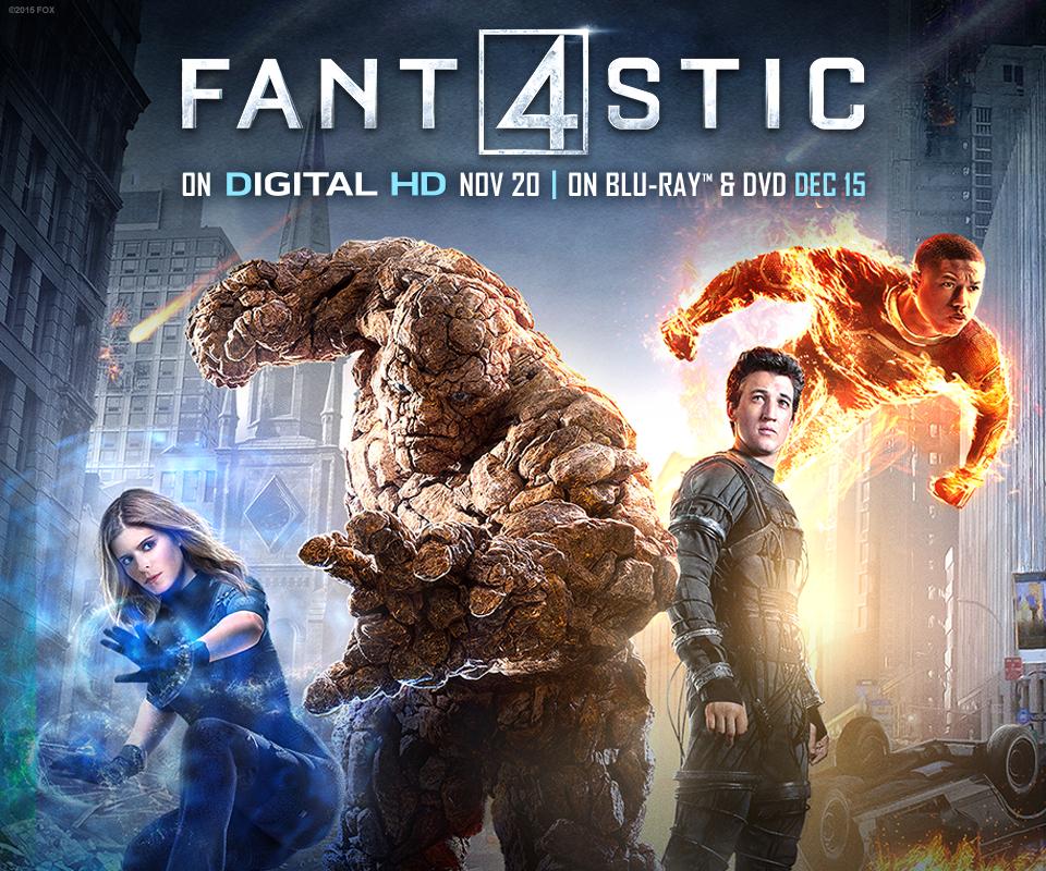 FANTASTIC 4 DVD | Giveaway #FantasticInsiders