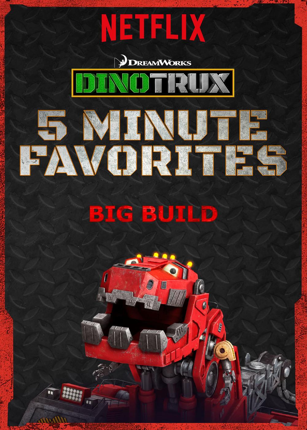 #Netflix Dinotrux '5 Minute Favorites' #StreamTeam