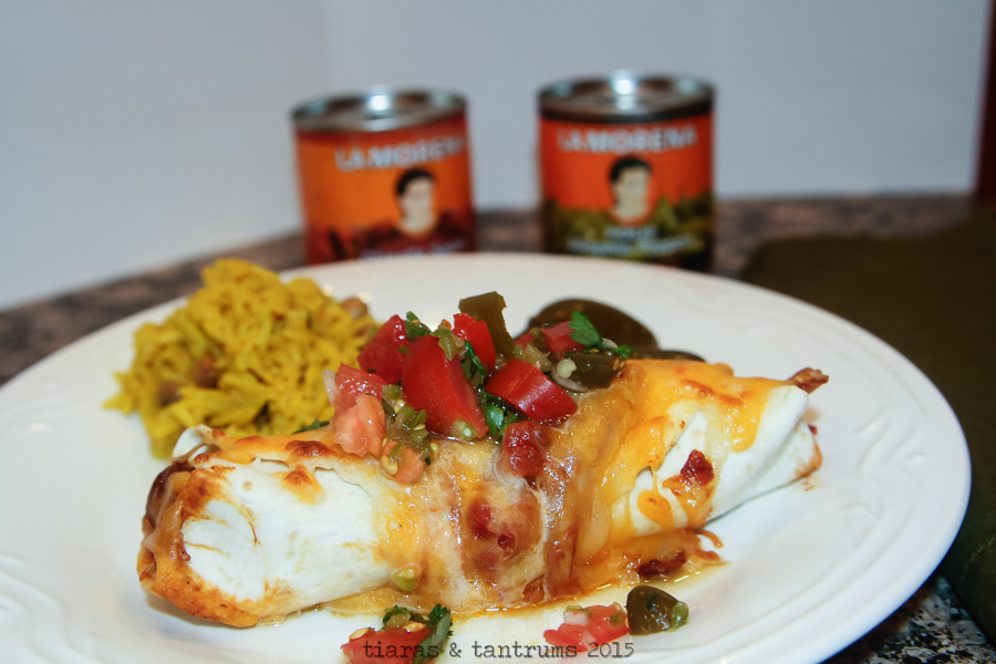 Chipotle Chicken Enchiladas with Homemade Salsa {Recipes} #VivaLaMorena