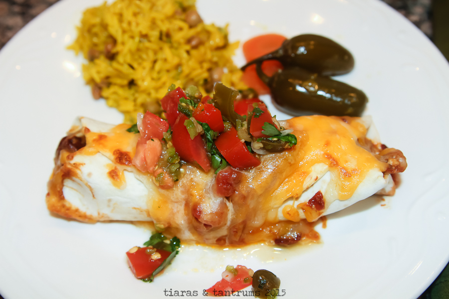 Chipotle Chicken Enchiladas with Homemade Salsa {Recipes} #VivaLaMorena