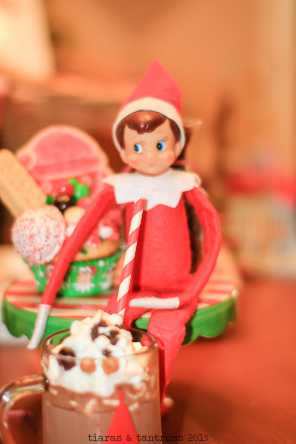 Elf on the Shelf Cupcake & Cocoa Welcome Party #BakeintheFun