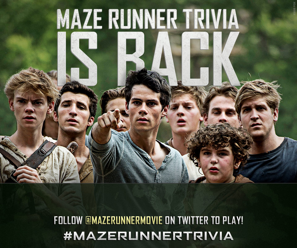 #SurviveTheScorch – Maze Runner: Scorch Trials Live Twitter Party with James Dashner on 12/12