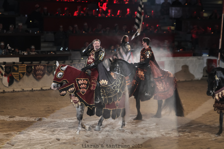 Medieval Times Dinner and Tournament Holiday Feasts #MedievalTimes