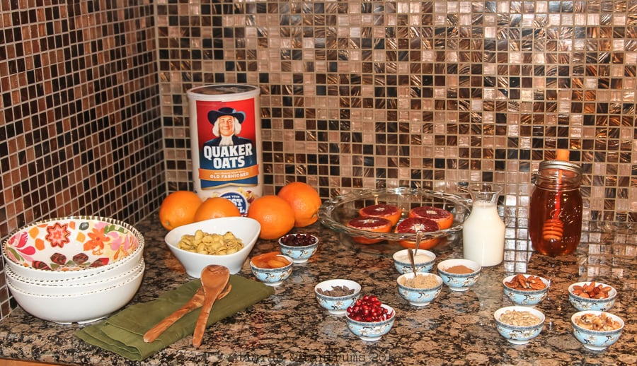 Roasted Blood Orange Oatmeal #BringYourBestBowl