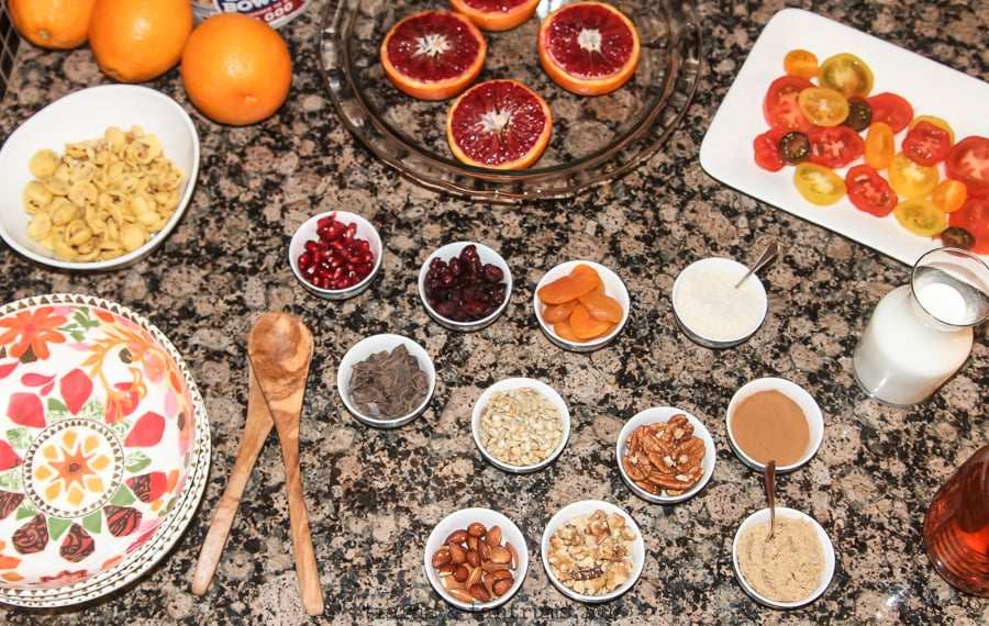 Roasted Blood Orange Oatmeal #BringYourBestBowl