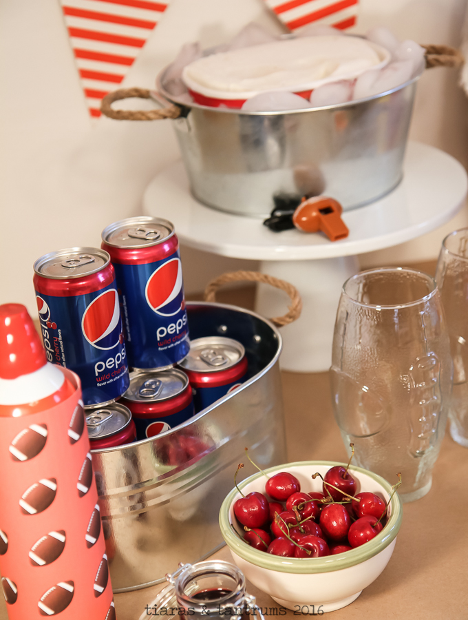 Cherry Pepsi Float for Game Day Celebrations #GameDayMVP