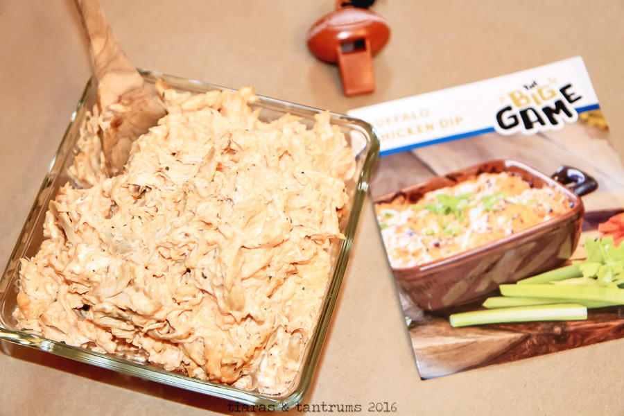 Buffalo Chicken Dip for Game Day Celebrations #GameDayMVP