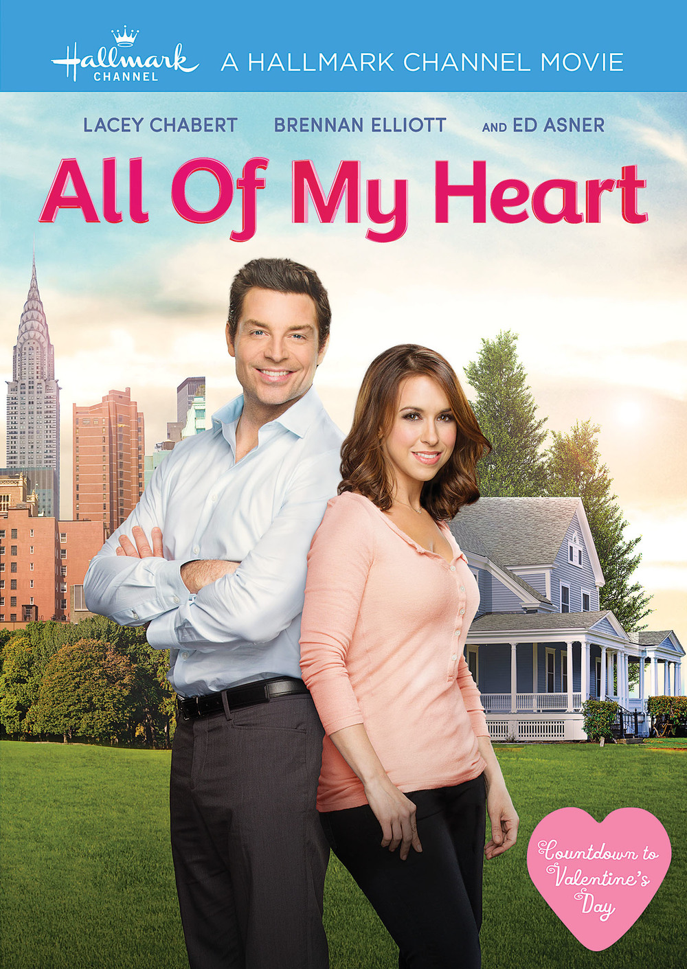 Get Ready for a Romantic Valentine's Day with ALL OF MY HEART and SO YOU SAID YES DVDs
