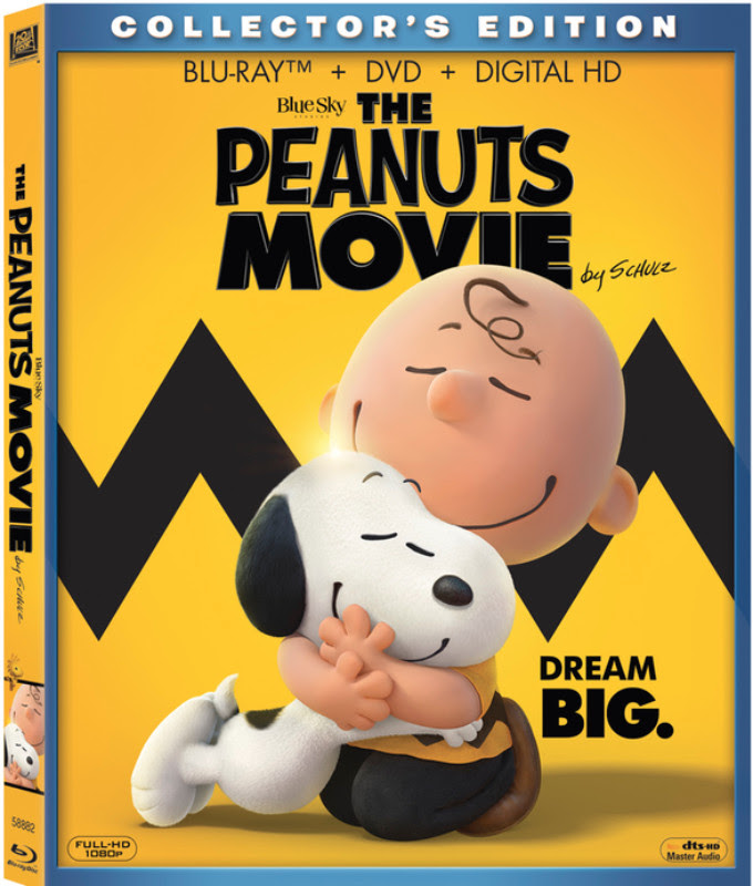 The Peanuts Movie Comes out on Blu-ray/DVD Mar 8 #PEANUTSInsiders