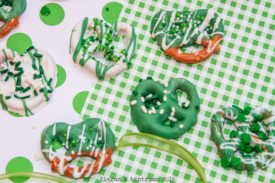 St Patty Pretzel Bites