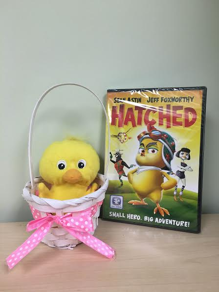 Hatched DVD Easter Basket {Giveaway}