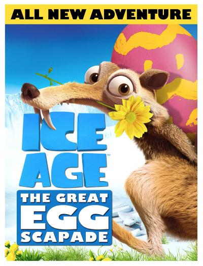 Ice Age: The Great Egg-scapade #InsidersEggscapade