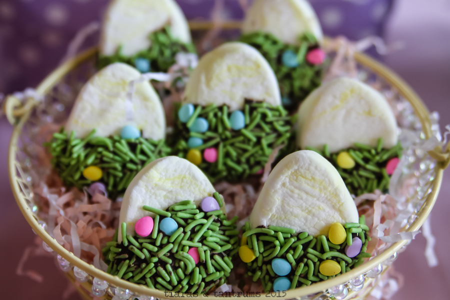 Easter Chocolate Covered Marshmallows