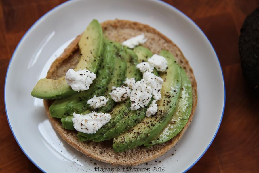 BAGEL TOAST: Building A Breakfast Sandwich