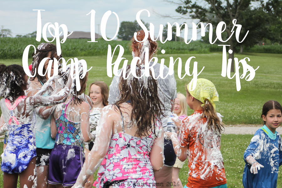 My Top 10 Summer Camp Packing Tips For Summer Sleep-Away Camp