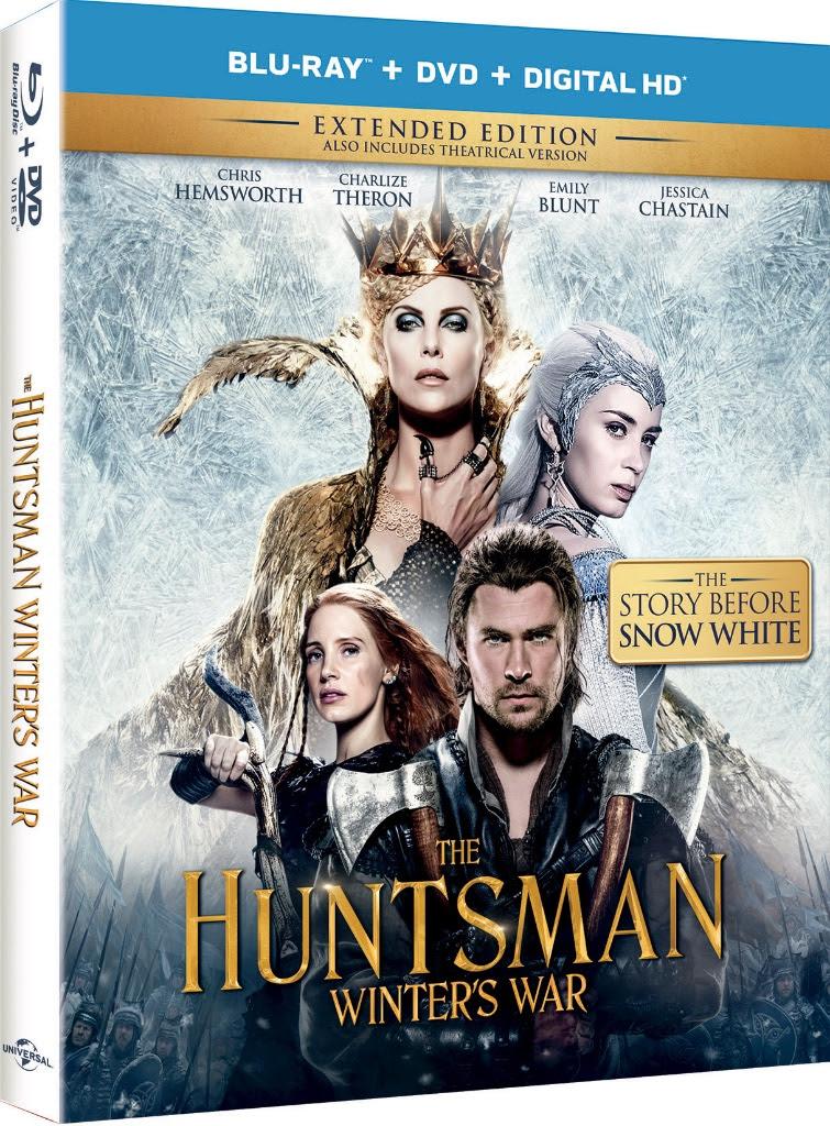 THE HUNTSMAN: WINTER'S WAR | DVD Giveaway #TheHuntsman #WintersWar