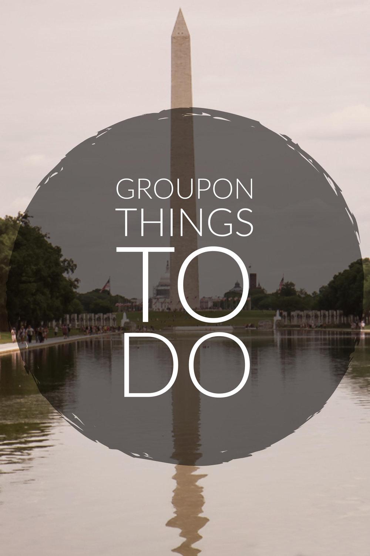 Groupon Things To Do in Washington DC