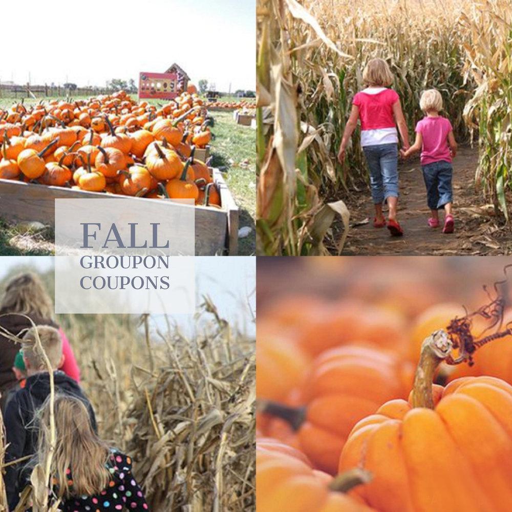 Fall Groupon Coupons