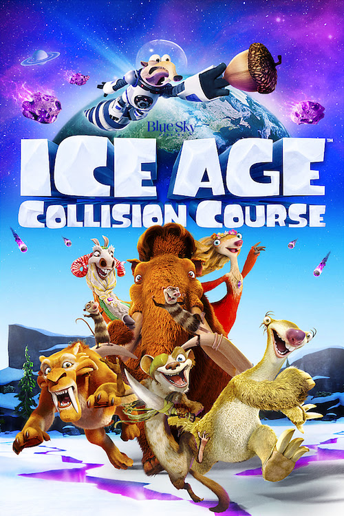 Ice Age: Collision Course on Blu-ray & DVD TODAY