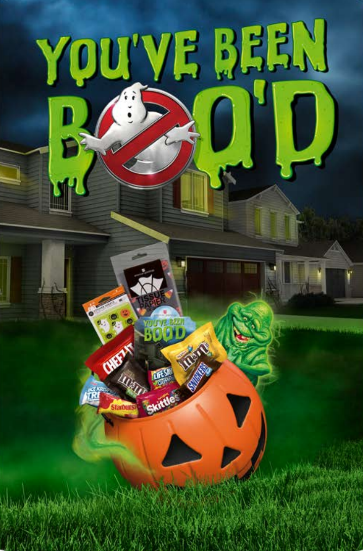 Boo It Forward This Halloween with Ghostbusters #BooItForward