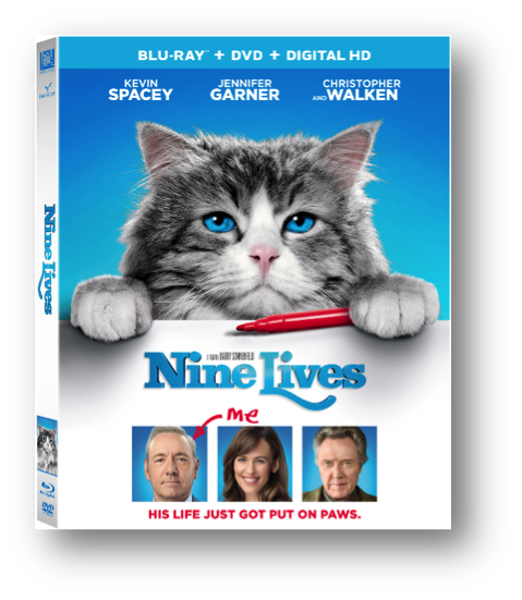Let the cat out of the bag: Nine Lives DVD #giveaway @tiarastantrums #NineLives #NineLivesInsiders https://is.gd/KHyBDr