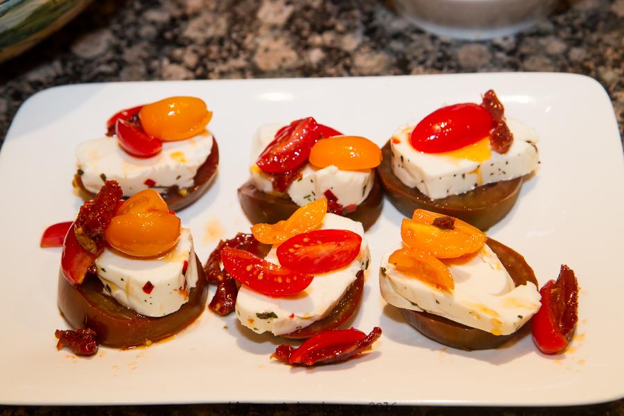 Three Tomato Dessert