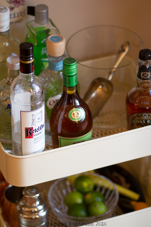 The Home Bar Cart