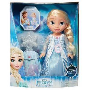 JAKKS PACIFIC'S  FROZEN NORTHERN LIGHTS ELSA