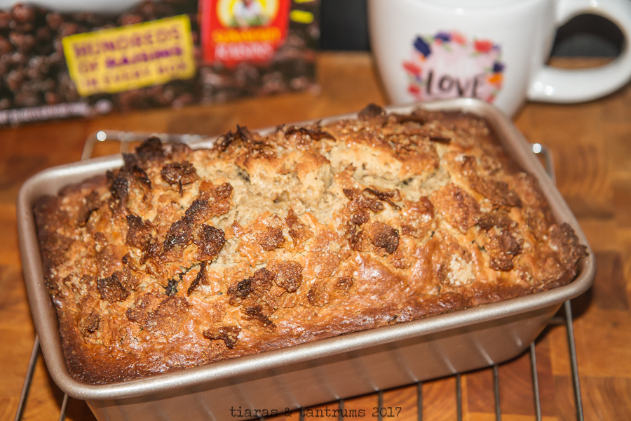 Peanut Butter Chocolate Chip Cereal Bread