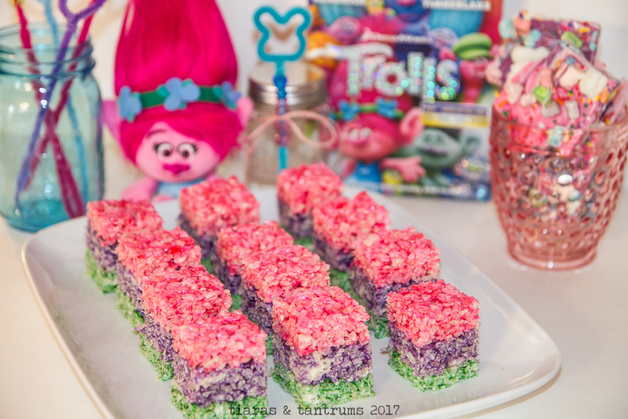 Rainbow Rice Krispie Treats — Tiaras & Tantrums