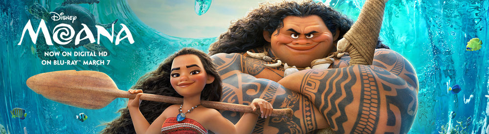 MOANA Family Movie Party and Food Ideas