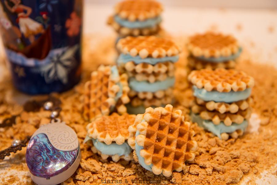 MOANA Mini Belguim Waffle Cookies