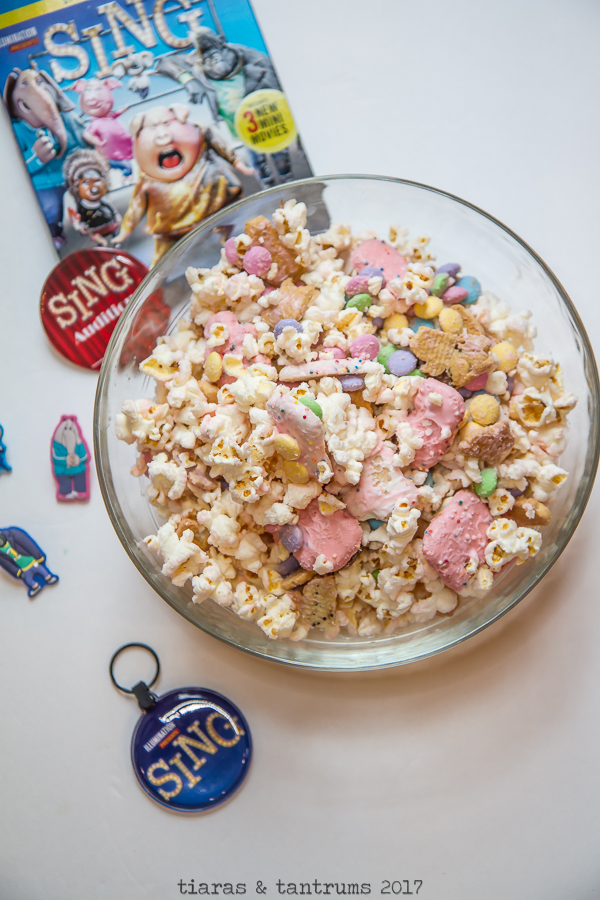 SING Candied Popcorn Mix