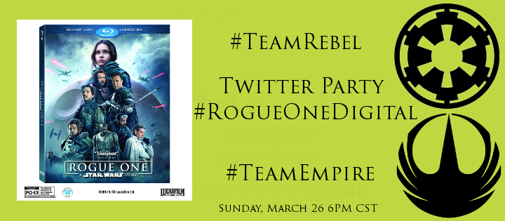 Star Wars Rogue One: Sunday Twitter Party