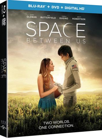 The Space Between Us | DVD Review & Giveaway  #TheSpaceBetweenUs