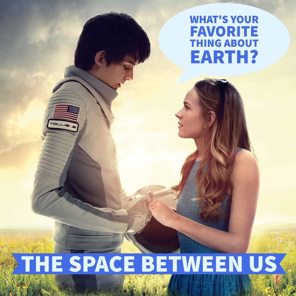 The Space Between Us | DVD Review & Giveaway  #TheSpaceBetweenUs