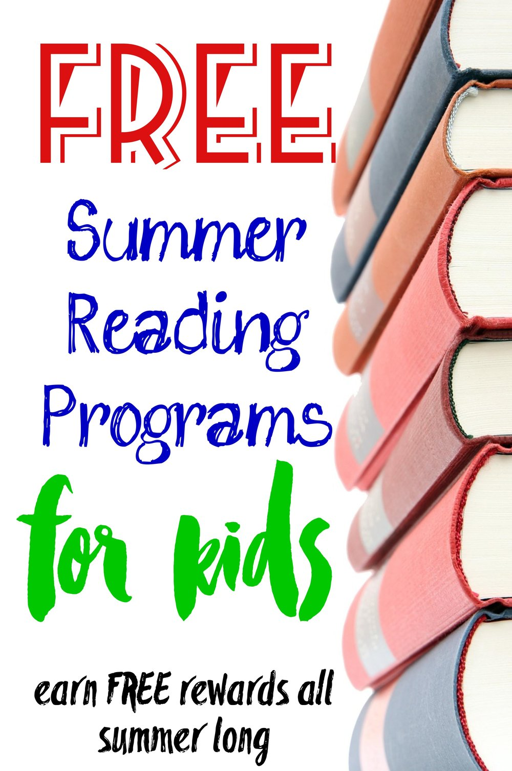 10 Summer Reading Programs for Kids   FREE — Tiaras & Tantrums