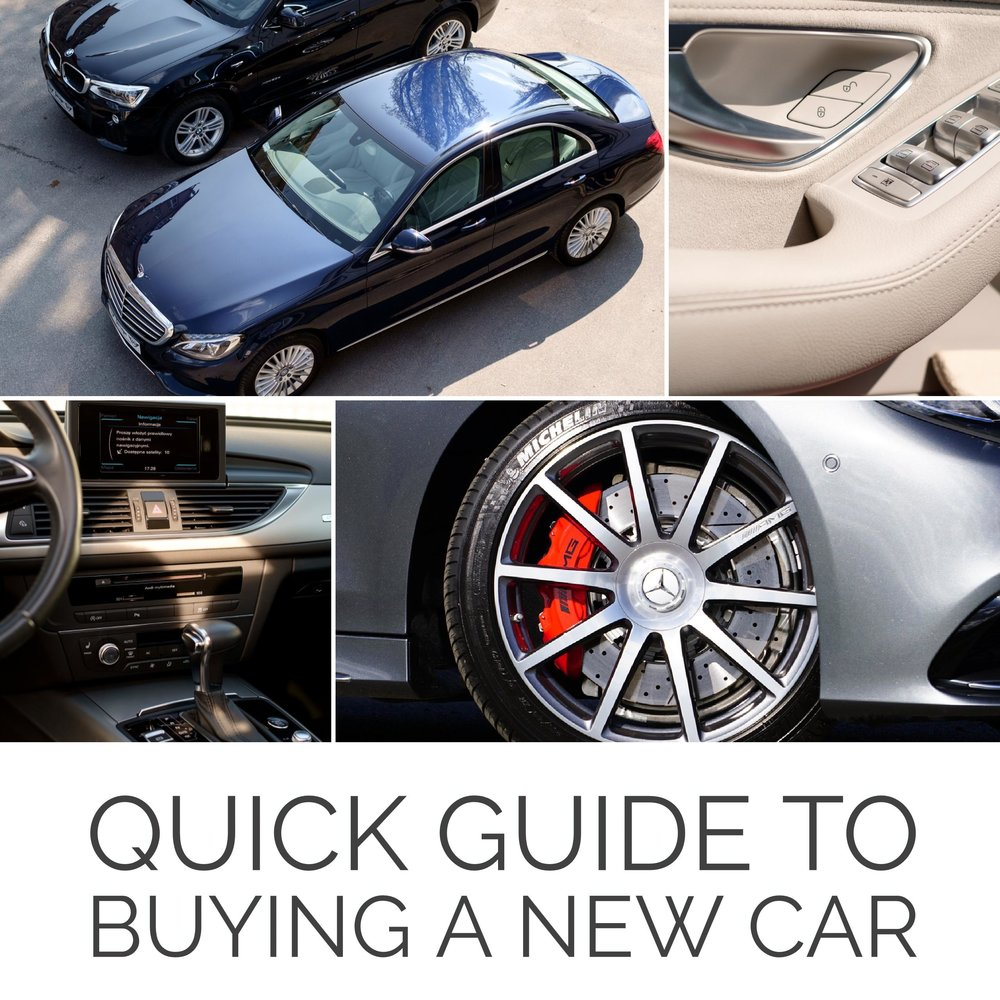Quick Guide to Buying a New Car