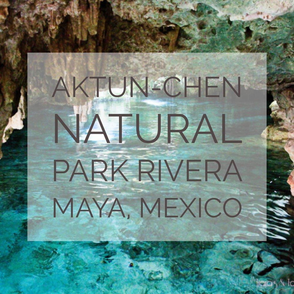 Aktun-chen Natural Park in Rivera Maya, Mexico