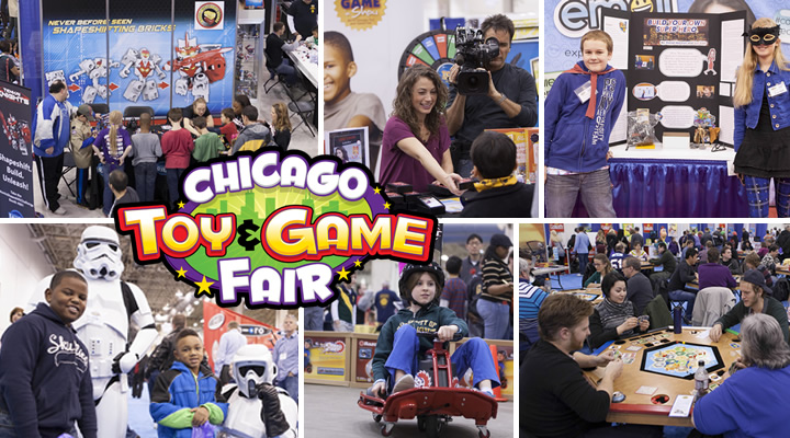 Chicago Toy & Game Fair #ChiTAG  15th Annual