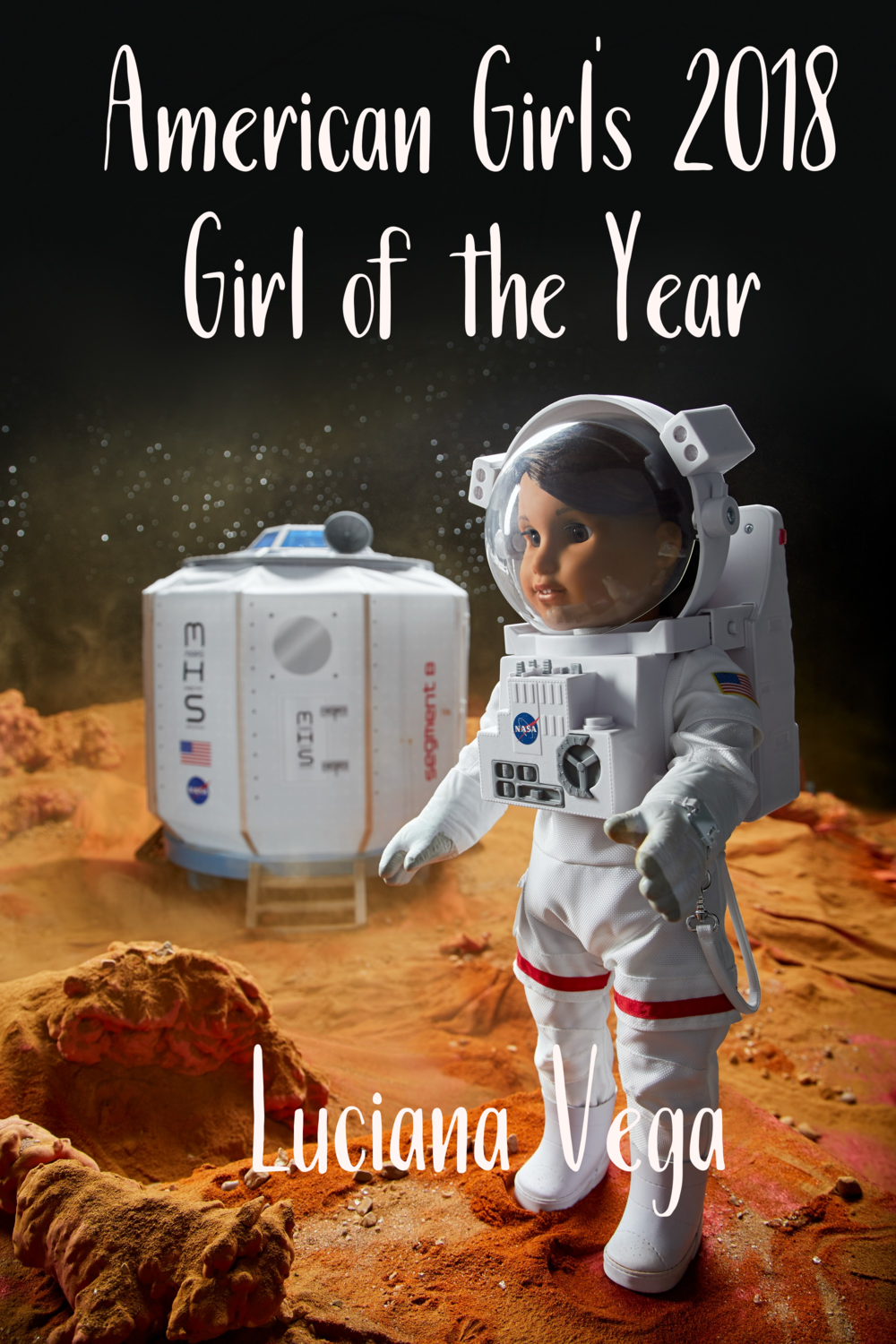 Luciana Vega American Girl's 2018 Girl of the Year