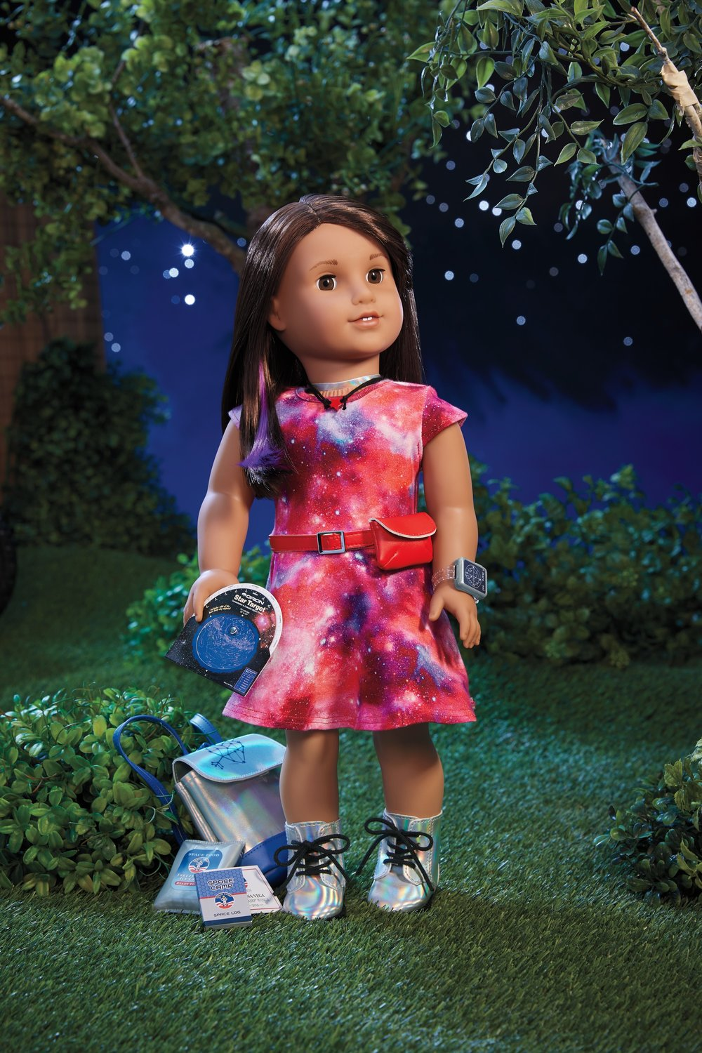 American Girl's 2018 Girl of the Year Is Luciana Vega - Aspiring Astronaut