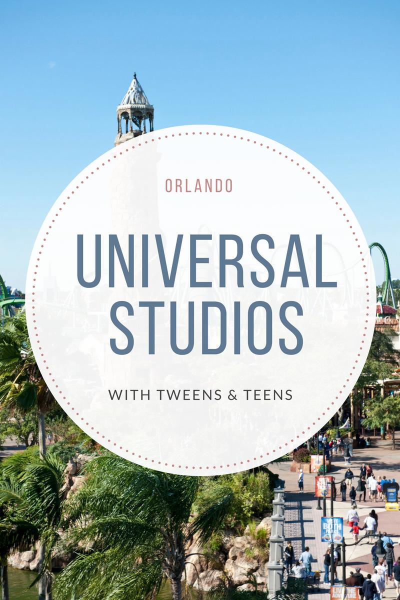 Universal Studios Orlando with Tweens