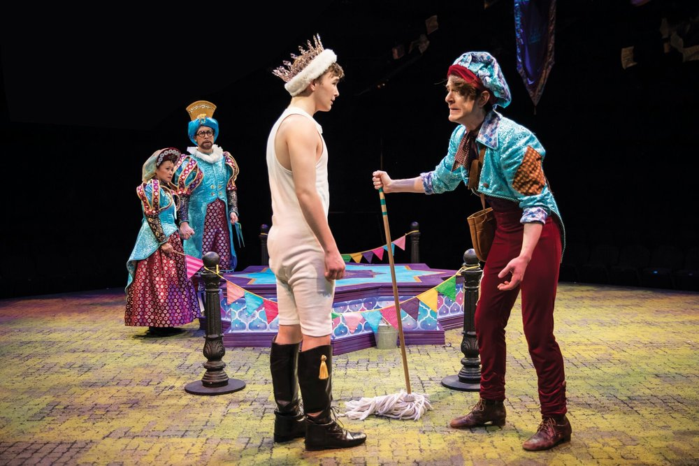 THE EMPEROR'S NEW CLOTHES at The Marriott Theatre for Young Audiences