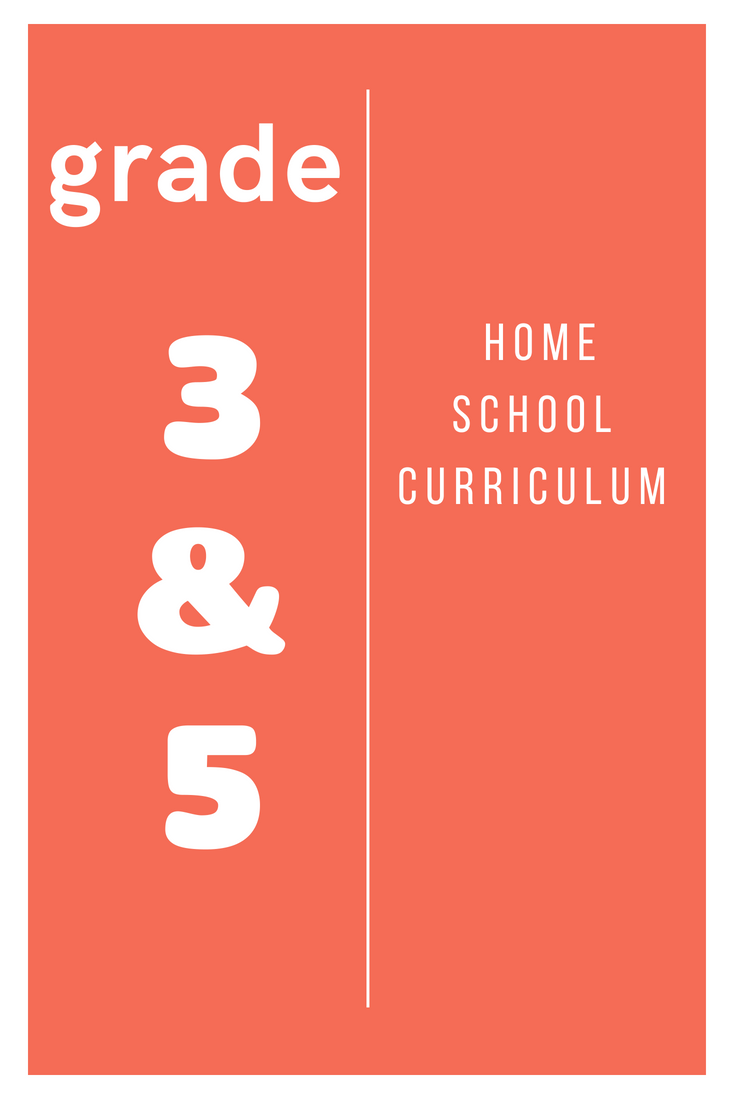 Home School Curriculum Grade & 3 Grade 5