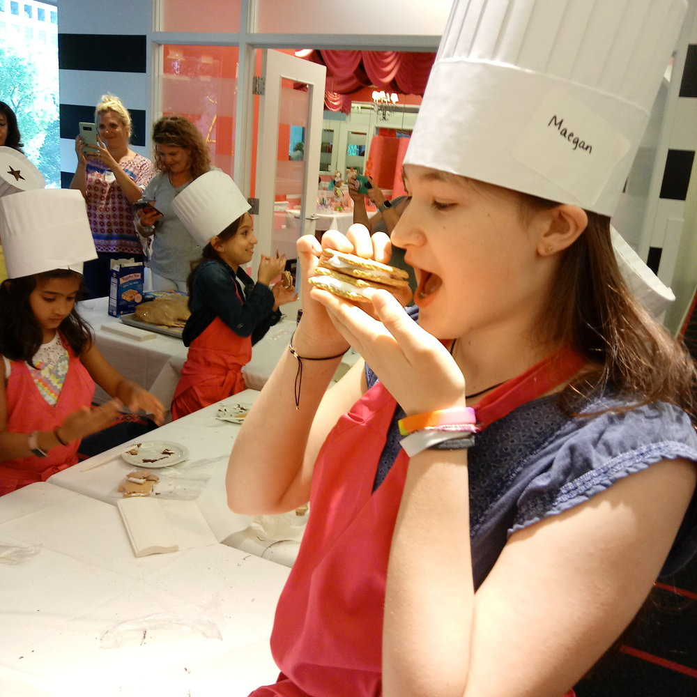American Girl Cooking Class Summer Series