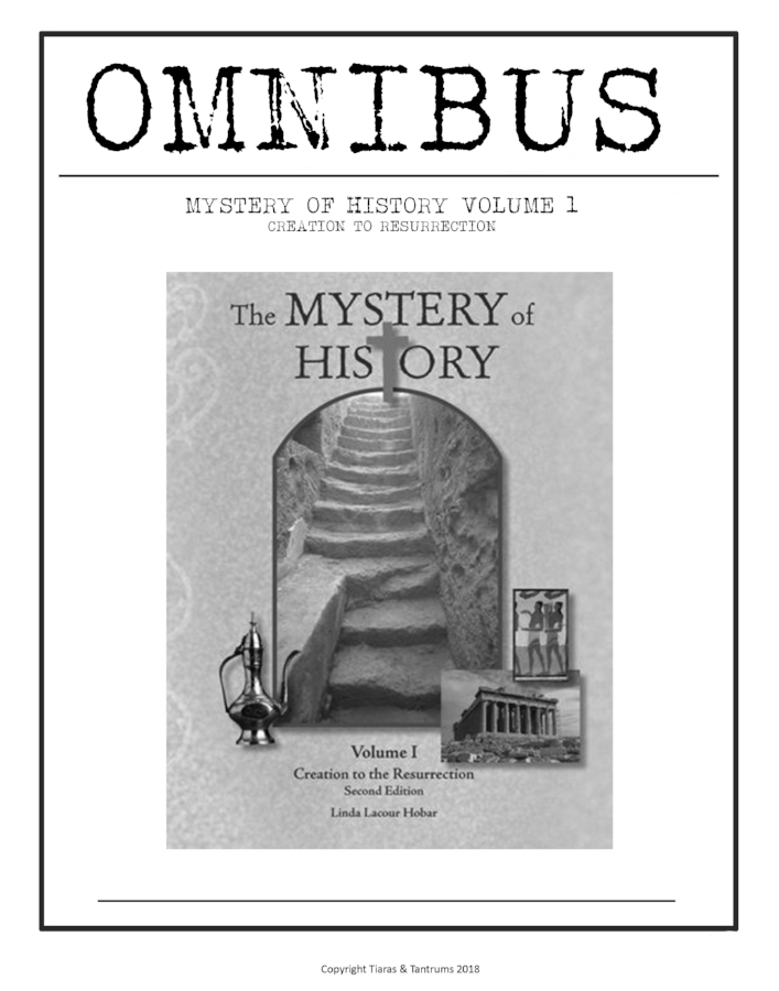 Omnibus Mega Pack Mystery Of History Volume 1 Curriculum