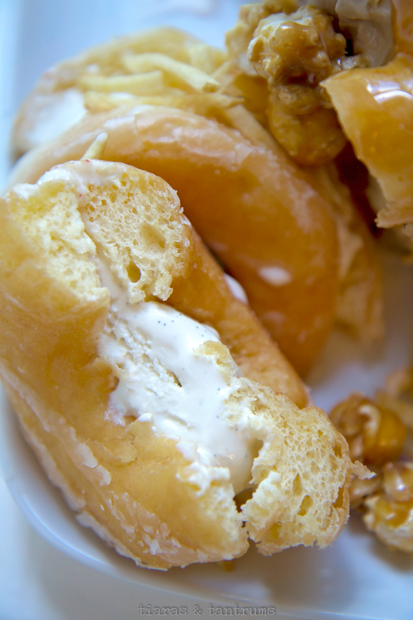 Indulgent Doughnut Ice Cream Sandwiches Tiaras & Tantrums