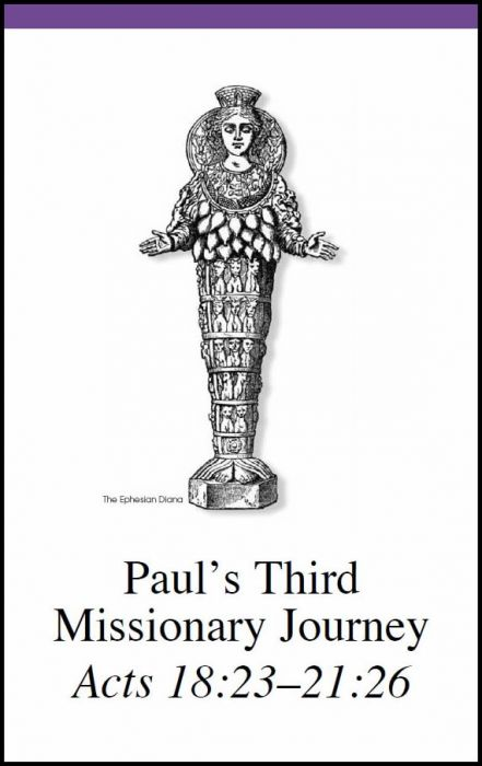 Missionary Map Project | Paul's Third Missionary Journey