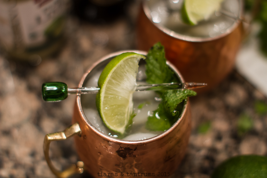 Moscow Mule Recipe #MoscowMule #Cocktails #Drinks